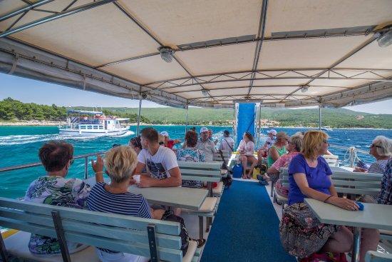 Punat, Croatia: Island cruise with Croatia Excursions