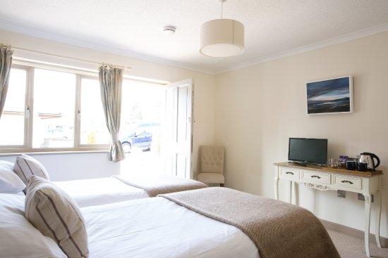 Axminster, UK: Twin Bedroom