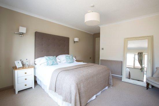 Axminster, UK: Double Bedroom