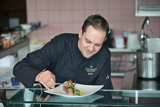 جينبيرغ, النمسا: Chef de Cuisine Peter Reithmayr