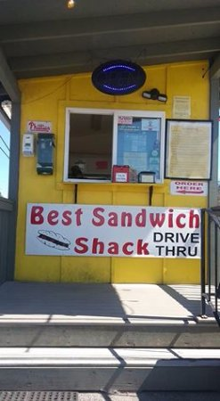 Best Sandwich Shack: Order Window