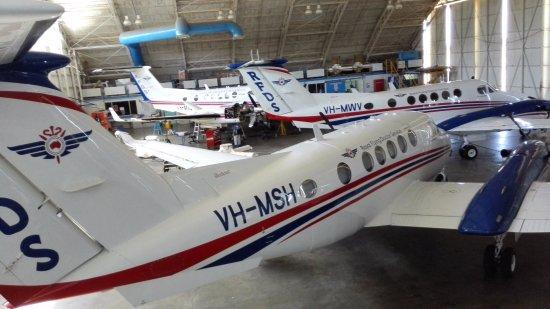 Broken Hill, Australia: Planes maintenance hangar