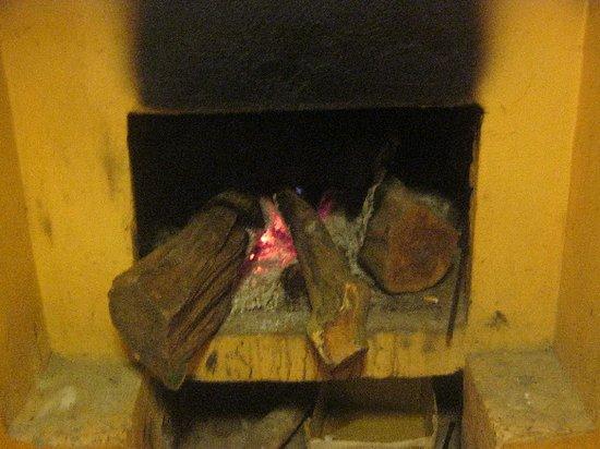 Warm Fireplace Picture Of Buffalo Bell Sapa Tripadvisor
