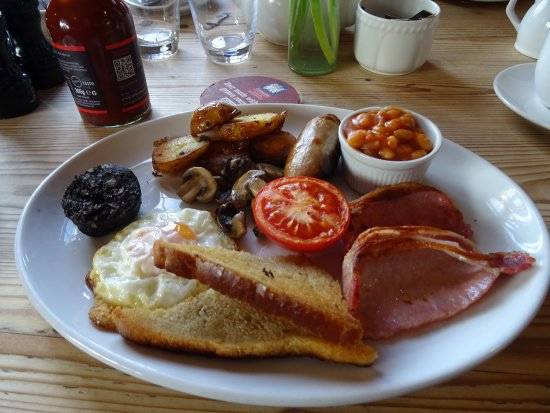 Amberley, UK: A good breakfast