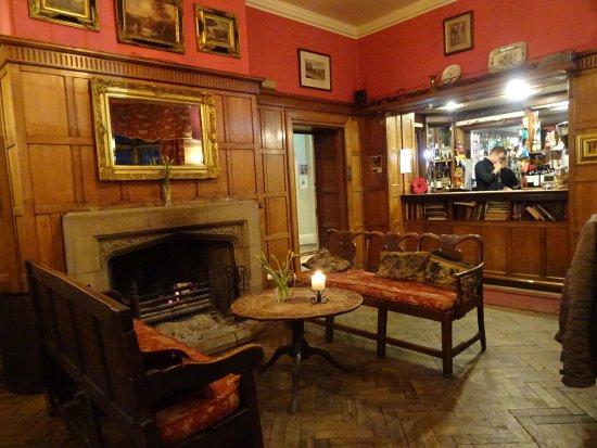 Amberley, UK: Bar area