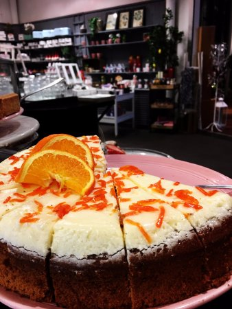 Sollentuna, Suécia: Dessert-Morotskaka