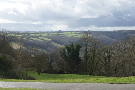 Amberley, UK: View from new room
