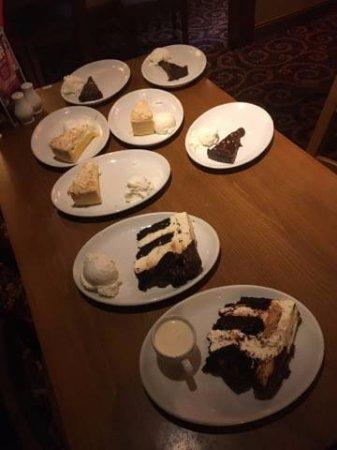Bishop Auckland, UK: New Desserts