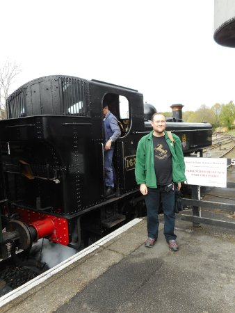 Me with the Pannier at Tenterden.