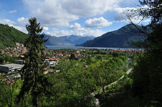 Park Hotel Villa Belvedere: Sicht auf Cannobio