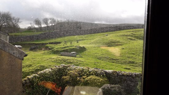 Horton-in-Ribblesdale, UK: View from Bedroom