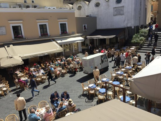 Al Piccolo Bar: View from first floor