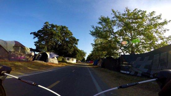 San Bernardino, CA: Homeless Encampment along the trail