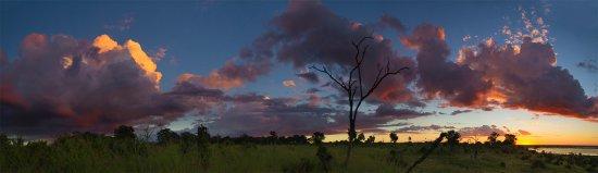 Chobe National Park, Botswana: View from Lodge