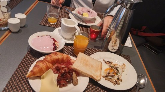 Eschborn, Tyskland: colazione vegana