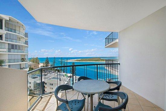 Caloundra, Australia: 2 Bedroom Water View Apartment