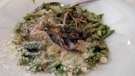 Schilpario, Italy: ottimo primo con burro versato