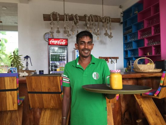 "Habaraduwa, Sri Lanka: Our one of Stewart on Duty ""Patta"""