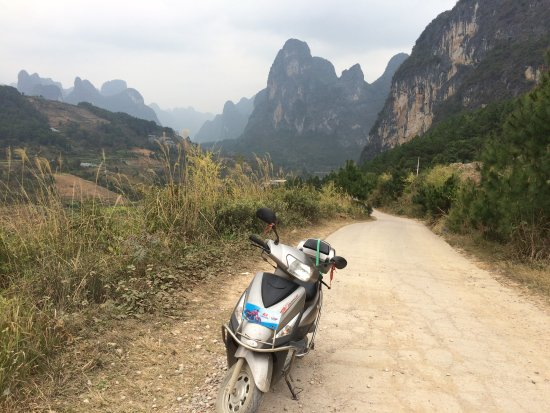 Laozhaishan Hotel: Rented a motorbike from them to explore the surrounding area