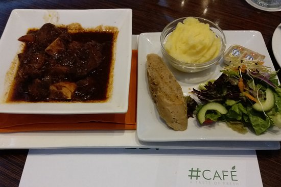 City Lodge Hotel OR Tambo Airport: Terrible Dinner