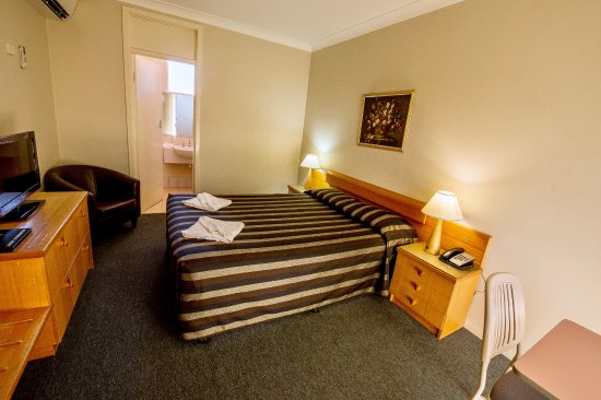 Kings Park Motel: Standard double room