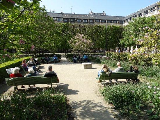 Jardin du palais royal picture of jardin du palais royal for Jardin 86