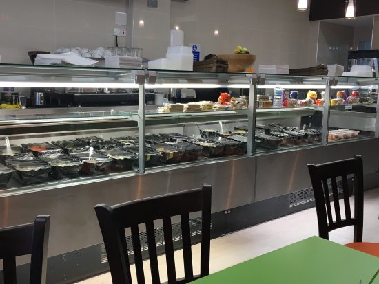 Ruislip, UK: WAFFLE-GELATO-SORBET-BAGUETTE-PANINI-TEA-COFFEE-MILKSHAKE-SMOOTHIE-CAKES