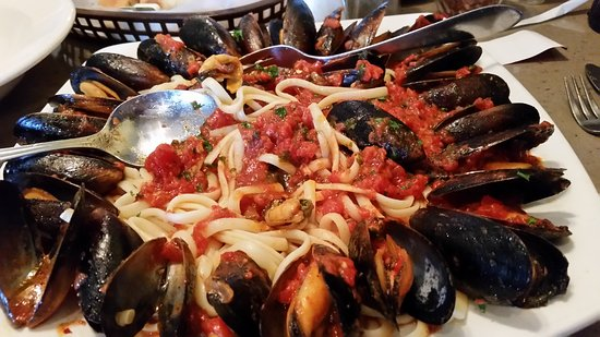 Reading, PA: Best Mussels Marinara I ever tasted. You must try it. I know when get it again.