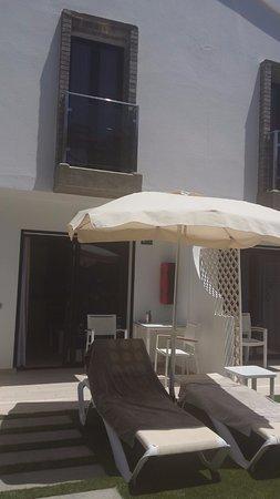 Terraza Privada Picture Of Fbc Fortuny Resort Maspalomas