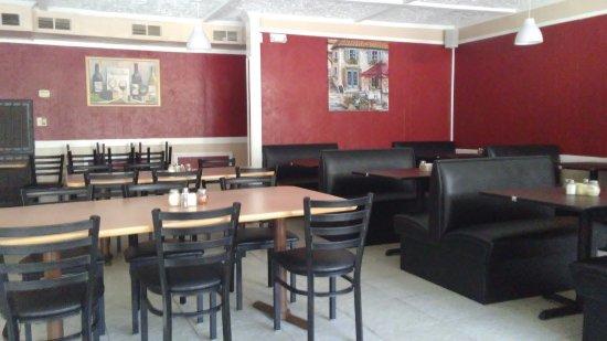 Acworth, Geórgia: dining room
