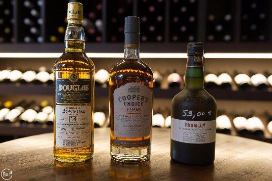 Uccle, Belgien: Whisky vendu sur place partie traiteur