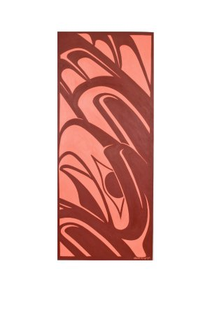 Surrey, Canada: Tahltan Eagle original large painting by Edzerza