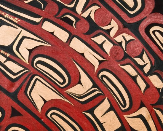 Surrey, Canadá: Original Painting authentic Native made