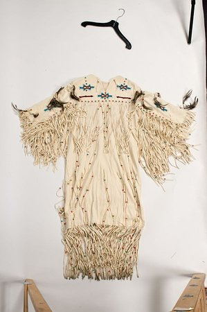 Surrey, Canada: Wedding Dress fringed size small estimate by Northwest Territories Native