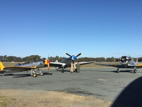 Wangaratta, Australia: Ryan, Harvard and Kittyhawk