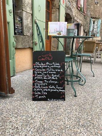 Туртур, Франция: Cocktail menu