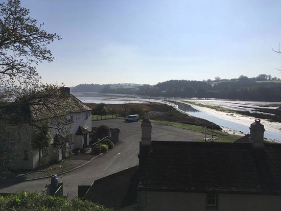 Kingsteignton, UK: View from South Lodge