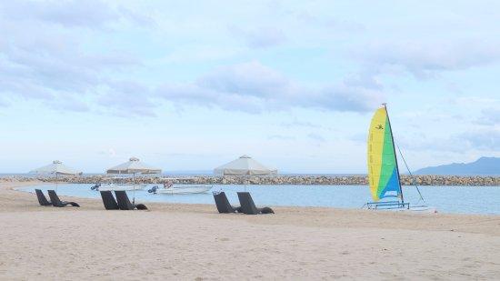 Misibis Bay Resort: Beach Area