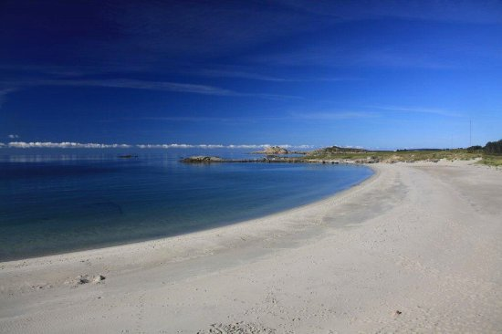 Farsund, Norvegia: 14 km of untouched beaches only 15 min for the hotel