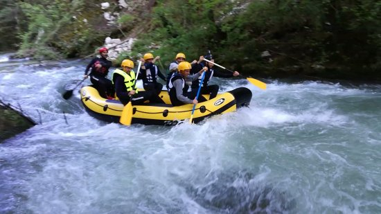 Vallo di Nera, Itália: Nomad Rafting