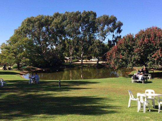 Wahgunyah, Australia: The grounds