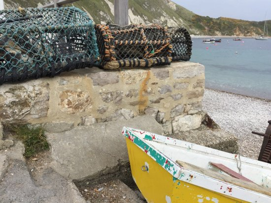 West Lulworth, UK: A lovely fishing village