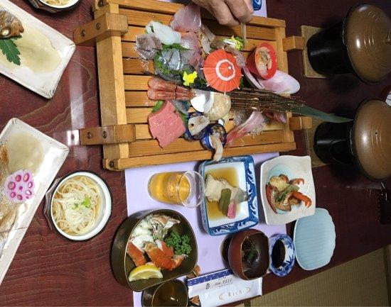 Hodatsushimizu-cho, Japão: 夕食