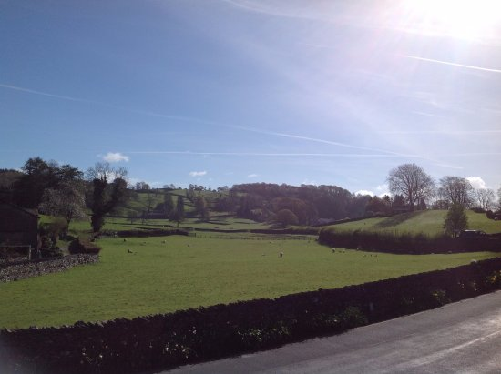 Near Sawrey, UK: The view from our room.