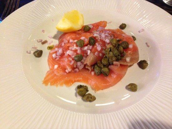 Wivenhoe, UK: Delicious smoked salmon