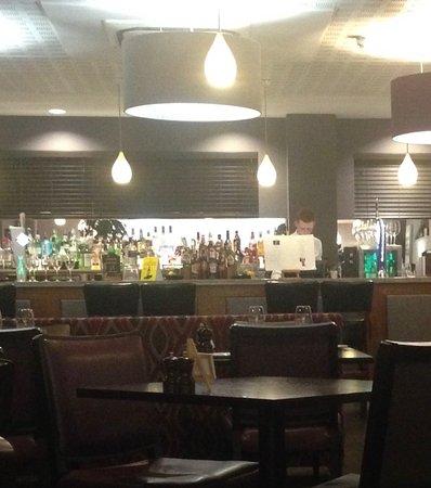 Wivenhoe, UK: No draught beer!