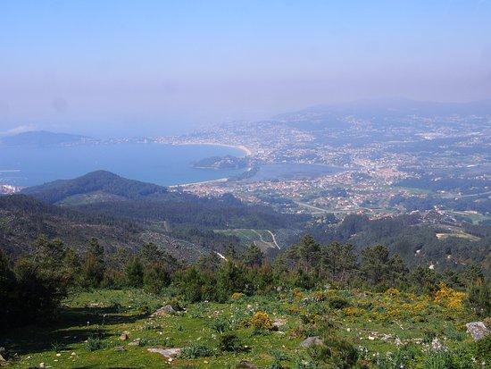 Oia, Spain: vistas desde el Alto da Groba