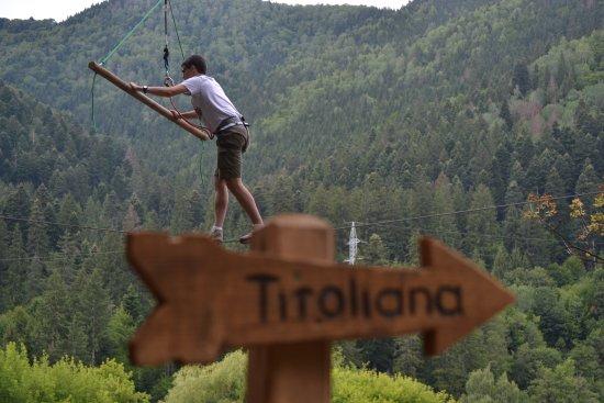 Baile Tusnad, Romania: Boy on the green course