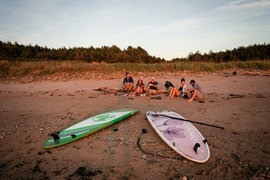 Margaree Forks, Canada: Hanging out on the beach!