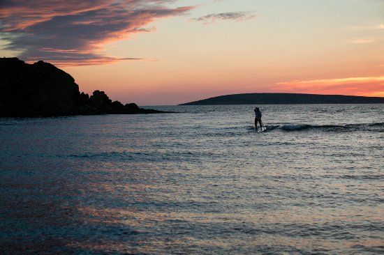 Margaree Forks, Canadá: Sunset SUP